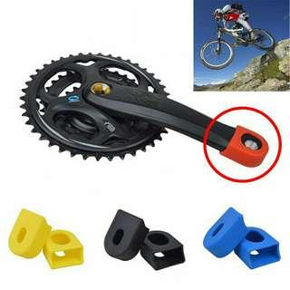 Accessories Covers Protective Sleeve Silicon Crankset Bike Crank Arm Protector