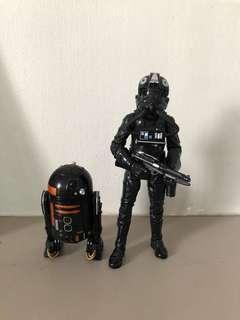 Star Wars Black Series Captain Axixo & R2-Q5