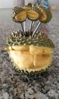 Vintage Durian cocktail forks