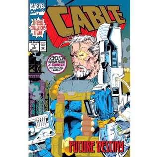 CABLE #1 (1993) 1st Issue! Gold foil cover