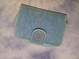 Kipling wallet light blue