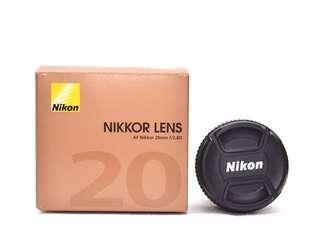 AF Nikkor 20mm F2.8D