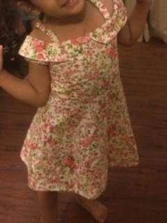 Dress bunga2 size S (4th)