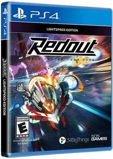 BNIB Redout PS4 game