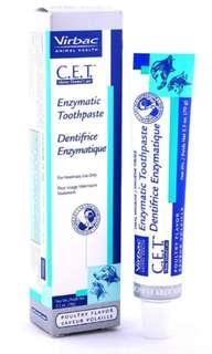 C.E.T Dog toothpaste poultry flavor