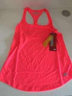 New balance singlet top size small 8 / 10 new with tags