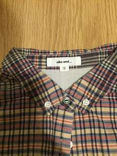 Niko And Vintage Feel Shirt (Size 3)