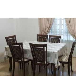Dining Table Set (with 4 chairs)