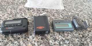Vintage  Motorola n erricson pagers