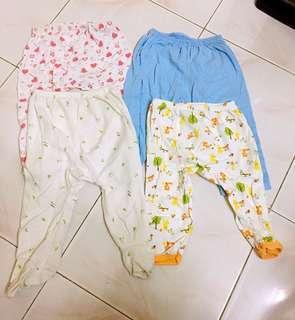 4 pieces Long Pants