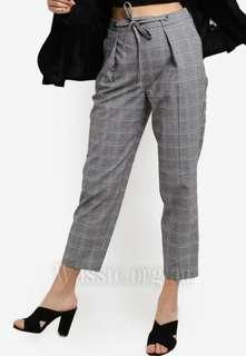 Topshop Checked Trousers