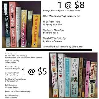 BOOKS FOR SALE!!!