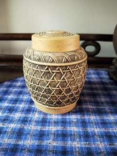 Old Tea Leaf Vessel