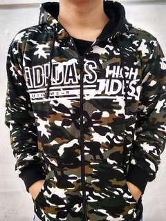 Jaket motif army all size