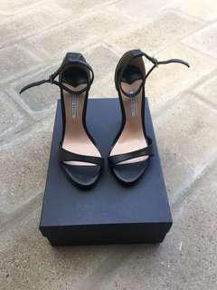 Tony Bianco High Heels in Black Leather
