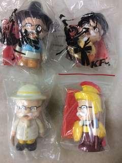 KCF retro vintage figurines