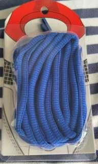 Sapphire blue sports shoelaces