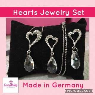 Hearts Jewelry Set