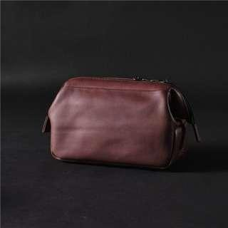 Cam-in Camera Bag Coffee color (full leather version)