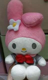 sanrio 日本 Melody 公仔 樂園限定 puroland 2012年