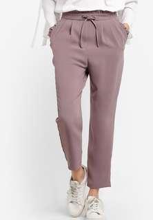 Topshop Ruffle Peg Trousers