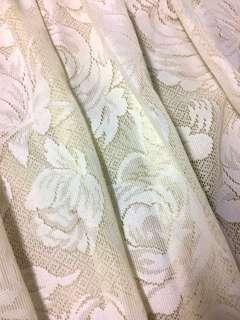 Retro vintage style lace curtain (A pair)
