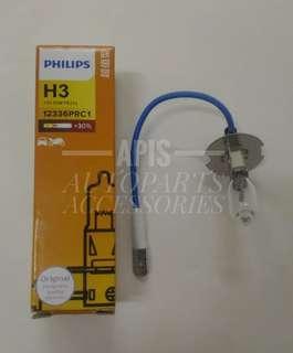 PHILIPS H3 HALOGEN BULB 12V 55W (STANDARD)