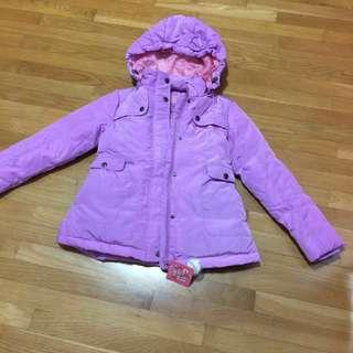 Brand New Winter Time Girls Down Winter Coat size 8