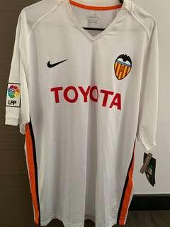VALENCIA HOME NIKE SOCCER JERSEY SIZE XL FOR CLEARANCE SALE