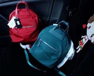 🚚 ❤️限量特賣❤️ 聖誕禮物 Agnes b 湖水綠 後背包