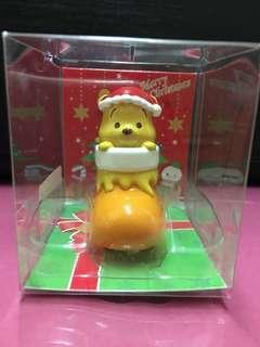 日本 聖誕 小熊維尼 Winnie the Pooh 聖誕襪 聖誕帽 聖誕禮物