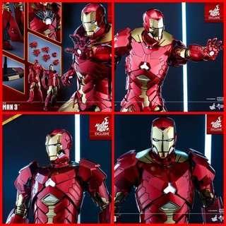 Hot Toys Retro Armour Ironman