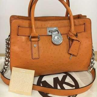 Authentic Michael Kors Hamilton Medium Satchel