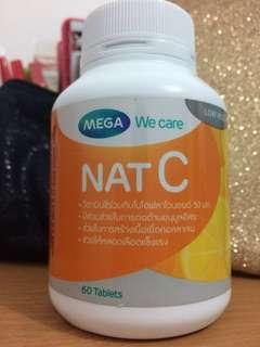 [Preloved 16 tablets] Nat C 1000 Mega Wecare