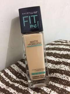 [Preloved 90%] Maybelline Fit Me Matte + Poreless shade 128