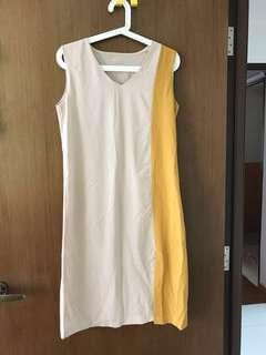 🛍Duo  colour Shift Dress