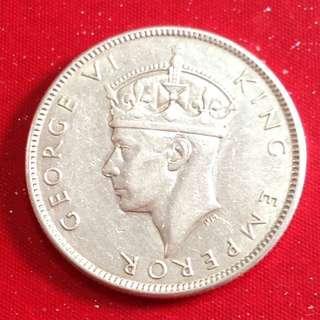 1943s Fiji Florin coin