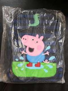 Peppa pig backpack 背囊