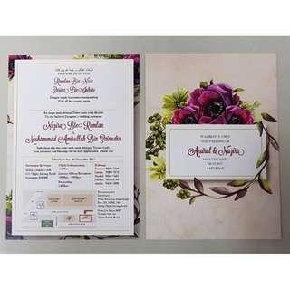 Wedding Invite Cards Print