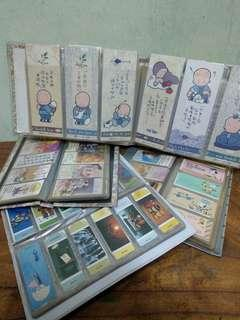 早期大小書籤.書卡~總數超過600張~(合售500~運40)