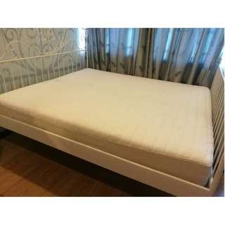 King Size Bed Frame & Mattress
