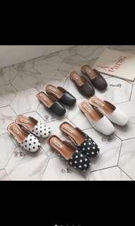 🚚 方頭穆勒鞋