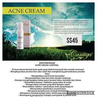 Cantiqa Acne/Pimple Cream ( very effective).