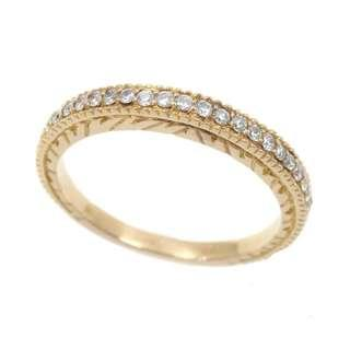 18k Diamond Ring - Sz 14