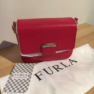 Brand New Furla Artesia Crossbody Pouch