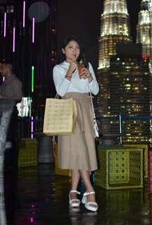 Korean Midi Wrap Sand Skirt #TGV3