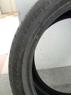 P Zero used tyres