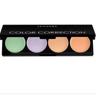 Authentic Sephora Color Correction Face Palette