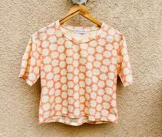 Daisy Floral Crop Top