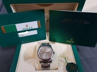 Repriced: Rolex Oyster Perpetual 2018 Men's Watch